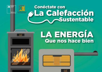 Campaña Educativa y Comunicacional: Calefacción sustentable y PDA